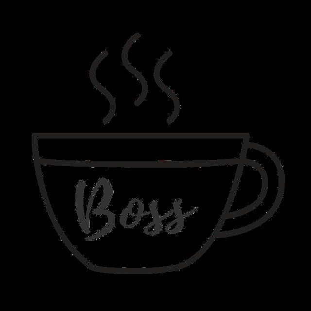 boss coffee cup 1